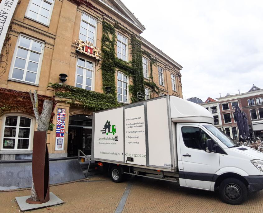 Verhuisbedrijf Gorinchem - verhuizing in binnenstad Gorinchem